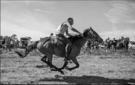 Esta foto fue tomada por Josué Rivas que está documentando en imágenes los sucesos de Standing Rock.