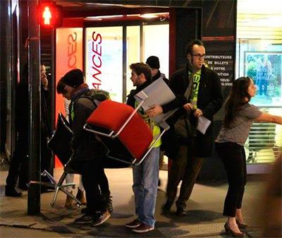Francia: detienen a periodista que cubría una manifestación