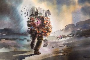 Portada-El Arte-Trashumante-Acuarela-56 x 76 cm-Foto Cultura MIIR-1600x-(1)-min