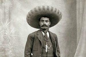 Emiliano Zapata.   Foto: Pinterest subida por el usuario Keith S. Chambers.
