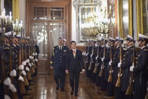 Enrique Peña Nieto en imagen del 2 de septiembre de 2015 con motivo de su Informe de Gobierno. | Foto: Presidencia / Cuartoscuro.
