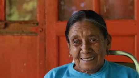 Karitina Ortiz Ortiz. Pantallazo del documental Batalla de las Cacerolas.